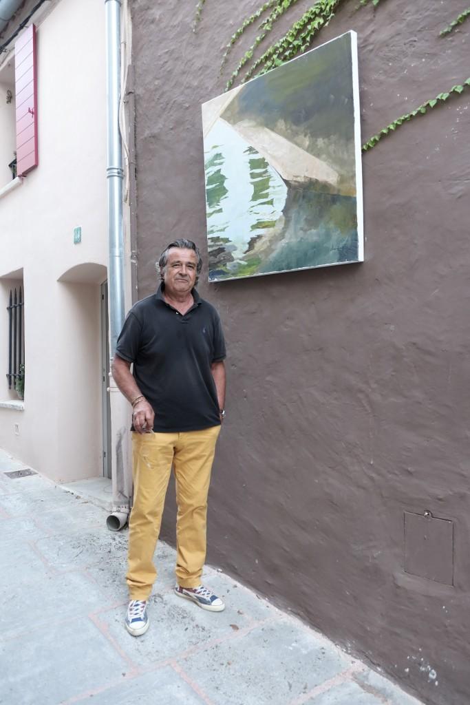 Francis Chapus, Grimaud, gallery. Galerie, Grimaud, St. Tropez, Lieblingsstil, 1