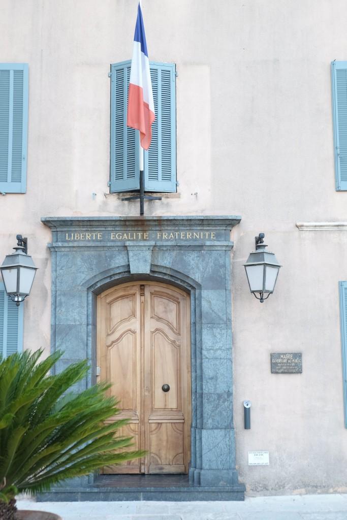 Rathaus, hotel de ville, city hall, Grimaud, Lieblingsstil