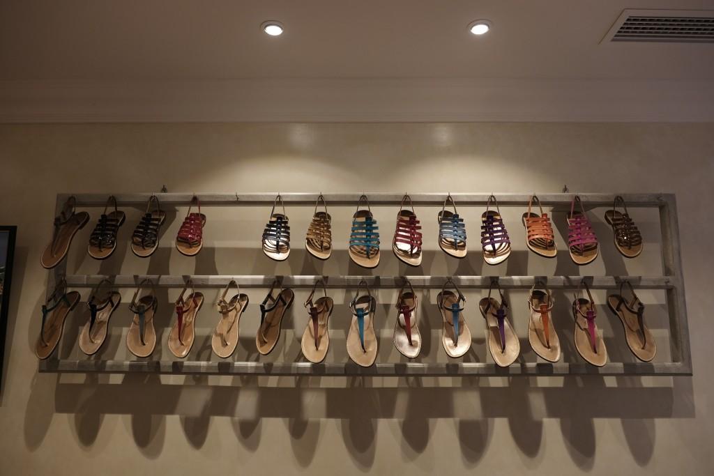 Rondini Sandalen Latschen sandals sandales St. Tropez Lieblingsstil