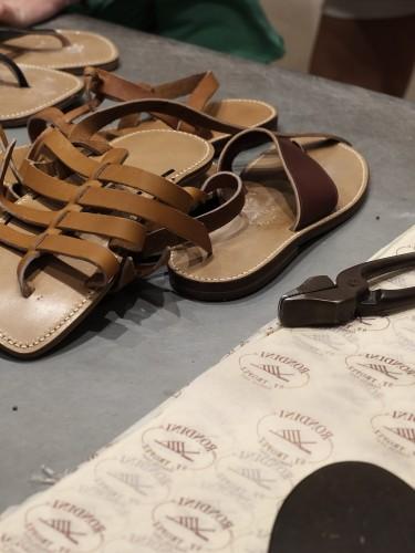 Rondini, Sandalen, sandals, snadales, Latchen Lieblingsstil St. Tropez