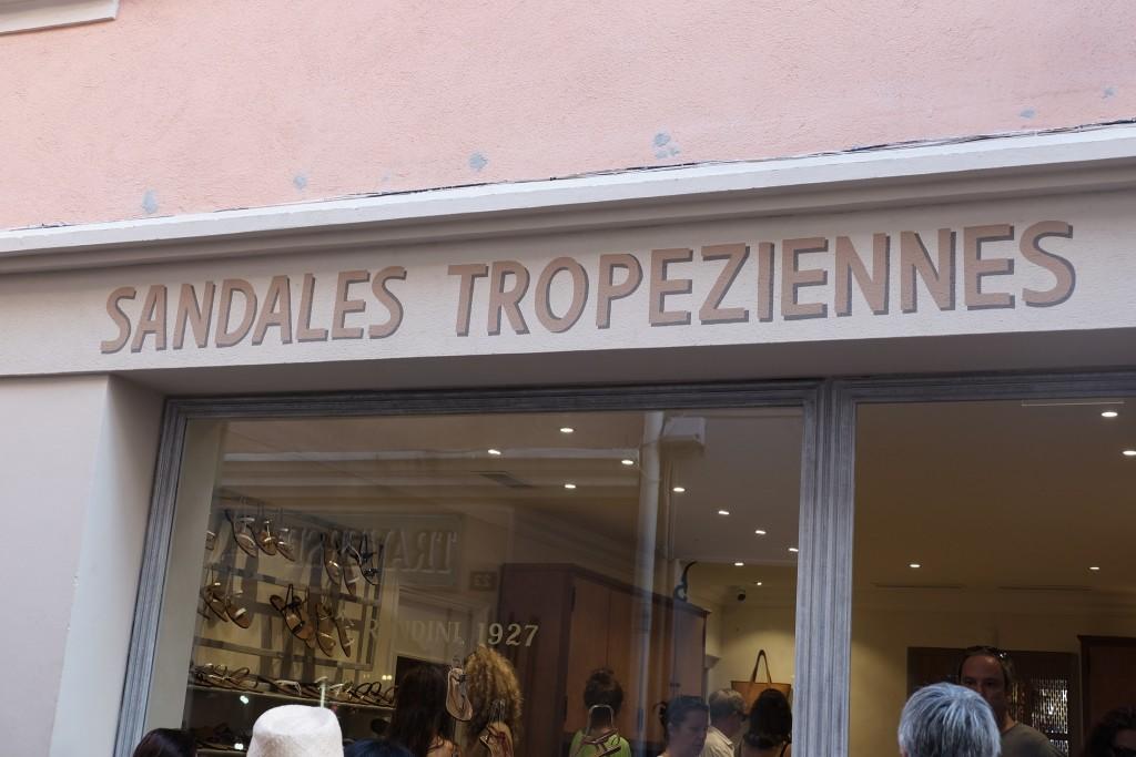 Sandales Tropiziennes St. Tropez Rondini Lieblingsstil