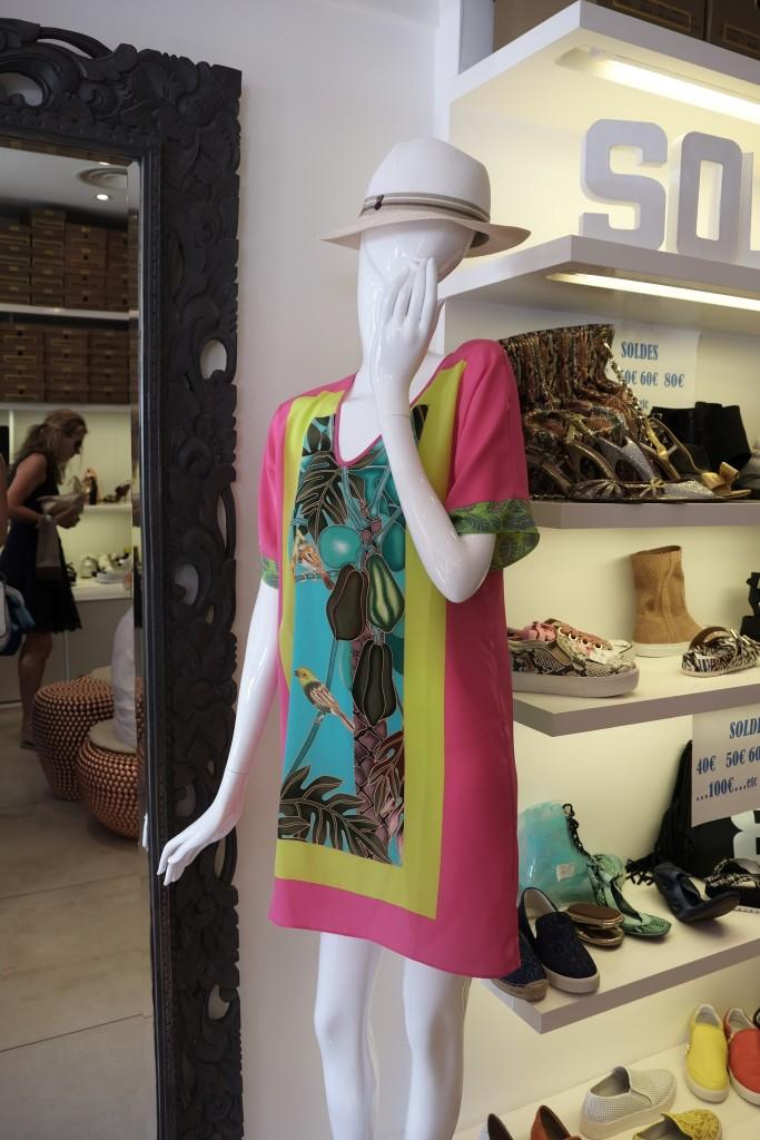 Woo´s St. Tropez Seidenkleid Strandkleid Lieblingsstil