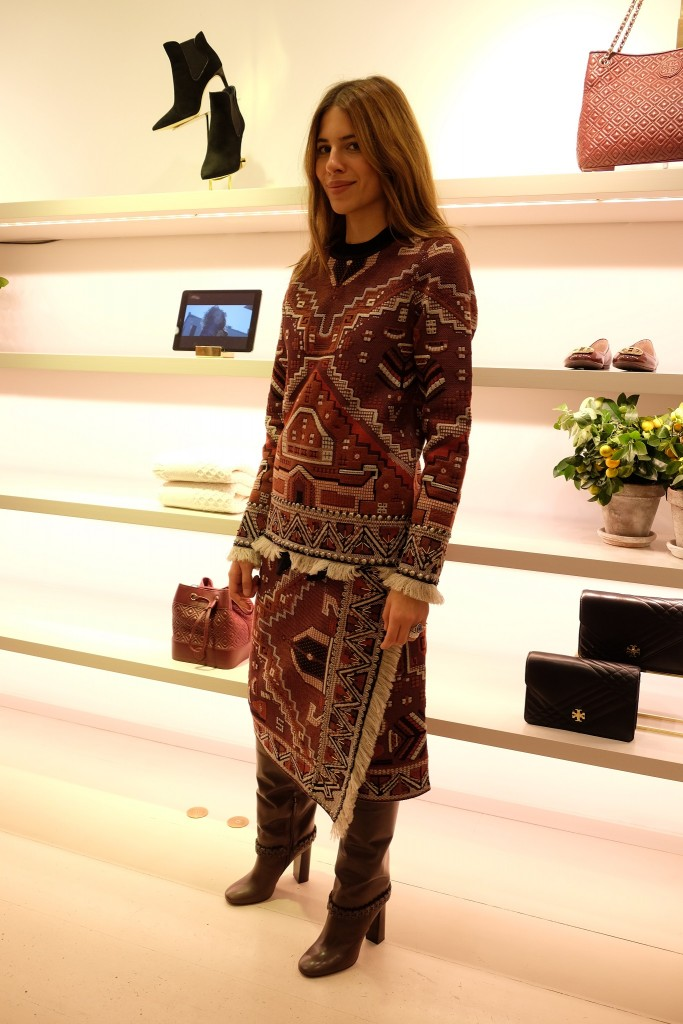 Maja Wyh, Apropos Event, Tory Burch Holiday Collection, Lieblingsstil