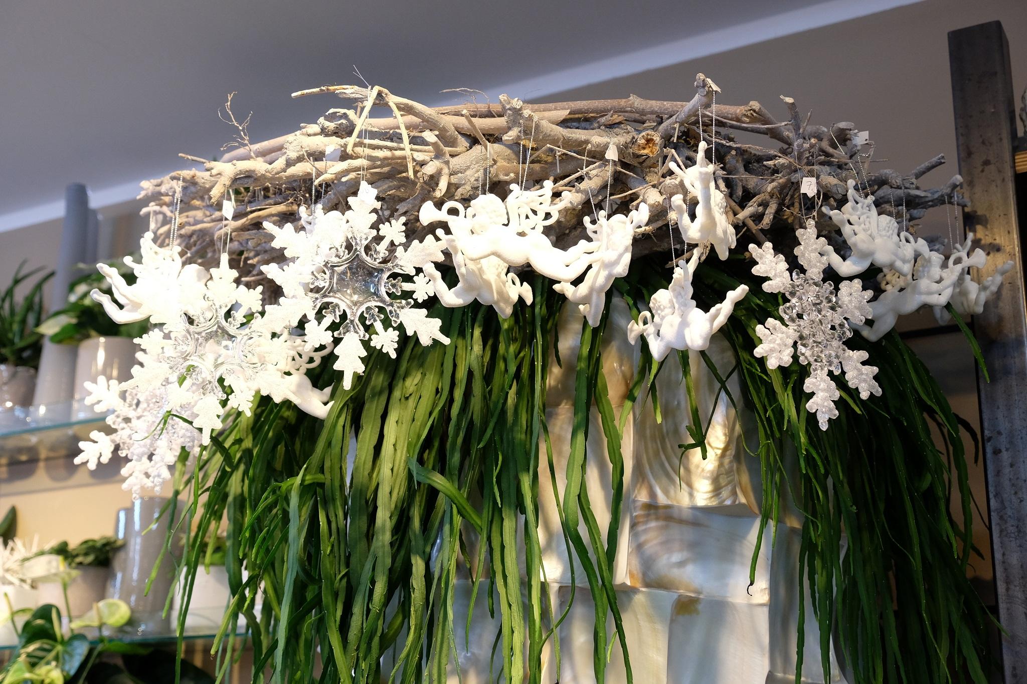 Weihnachtliche impressionen bei fiori lieblingsstil - Bilder weihnachtsdeko ...