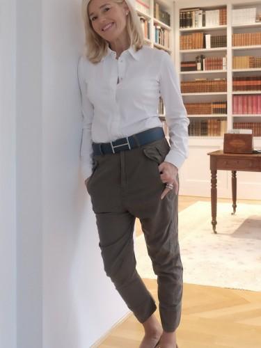 Hose G-Star Raw, Gürtel Hermès, Schuhe Sergio Rossi, Lieblingsstil,1