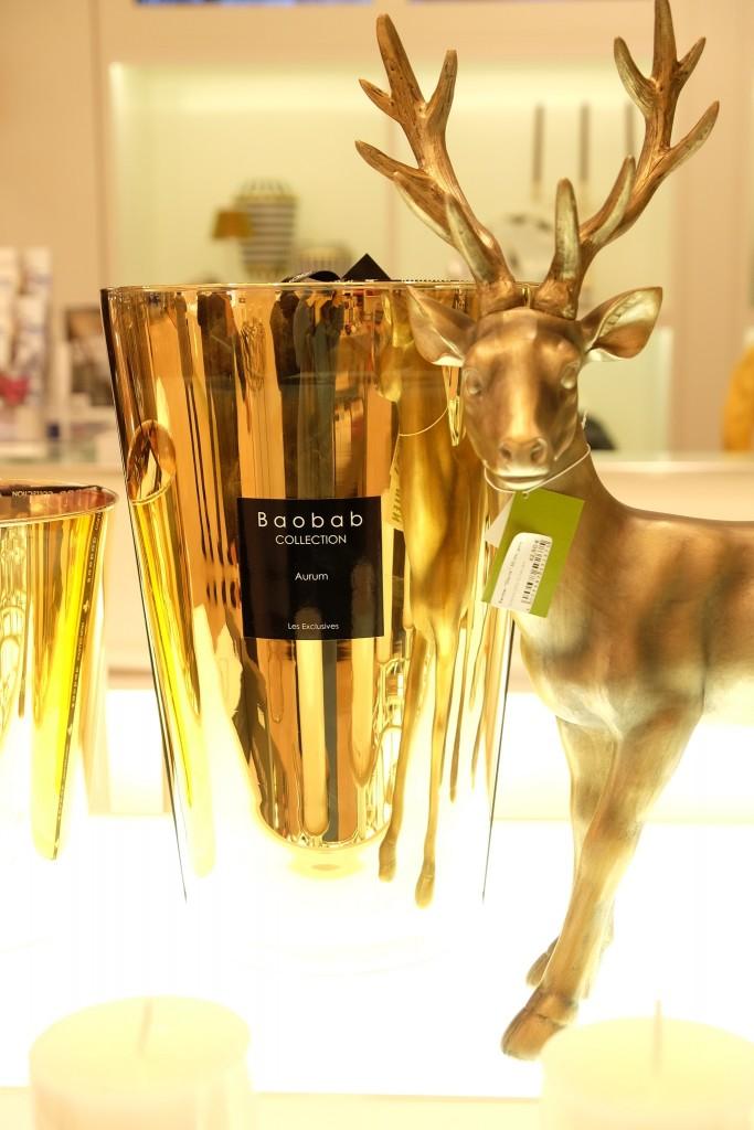Baobab Kerzen in gold und vielen Farben, Franzen Königsallee, www.Lieblingsstil.com, Blog ü40