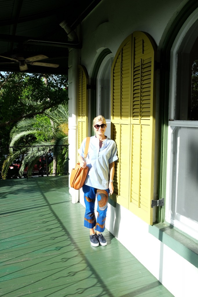 Key West, Hemingway House, pants Lieblingsstil, Hose Lieblingsstil, Oversize Blouse Lieblingsstil, Fashion Blog Lieblingsstil, Modeblog Lieblingsstil