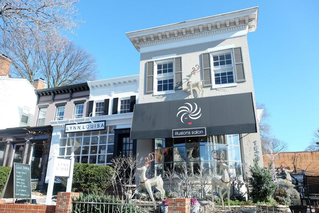 Shops in Georgetown Washington. Geschäfte in Georgtown Washginton, Lifestlye Blog Lieblingsstil