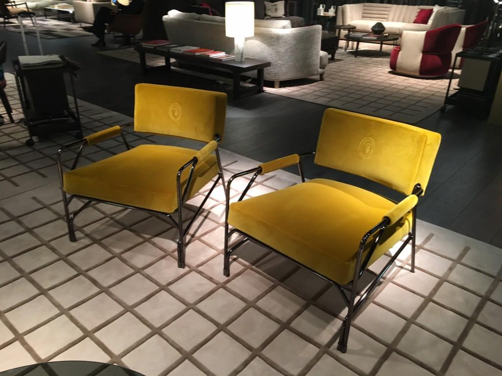 Trussardi armchair yellow, Trussadi Sessel gelb, Lifestyle Blog Lieblingsstil