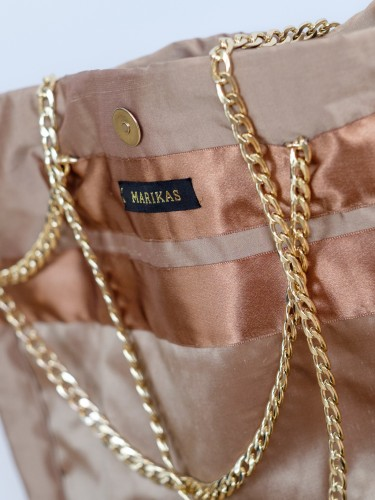 Marikas bag, Marikas DAYYDS Shopper gold, Marikas Tasche, Marikas sac, bag gold, golden bag, great bag, silk bag, fashion blog Lieblingsstil