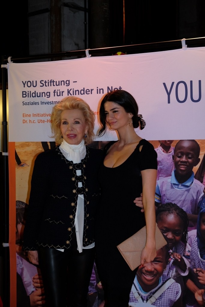 Shermine Shahrivar, Ute Ohoven, Dinner for Friends,Stiftung Bildung für Kinder in Not, Modeblog Lieblingsstil, Fashionblog Lieblingsstil,
