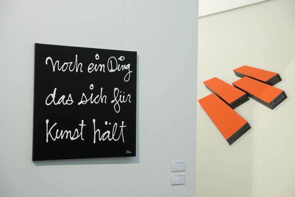 Ben Vautier, Noch ein Ding das sich für Kunst hält, Art Cologne, Kunstmesse Köln, Lifestlye Blog Lieblingsstil, Lifestyleblog Lieblingsstil