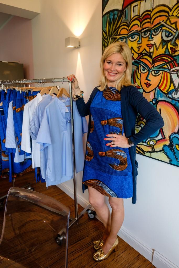 Lieblingsstil Label, Petra Dieners, Lieblingsstil Kollektion, Sommermode 2016, Sommerkleid blau orange, Lieblingsstil Kollektion, Modeblog Lieblingsstil, Fashionblog Lieblingsstil