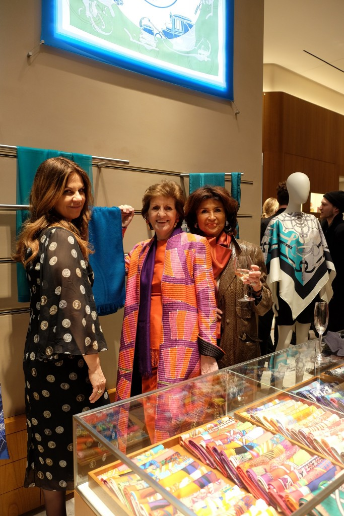Monika Gottlieb, Bettina Setareh, Hermès Event, Schaufensterevent Hermès Düsseldorf, Modeblog Lieblingsstil, Fashion Blog Lieblingsstil, Lifestyle Blog Lieblingsstil