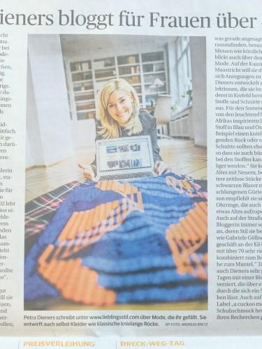 Rheinische Post Bloggerin Petra Dieners, Blog für Ü40, Blog für Frauen ab 40, Modeblog Lieblingsstil, Fashionblog Lieblingsstil,