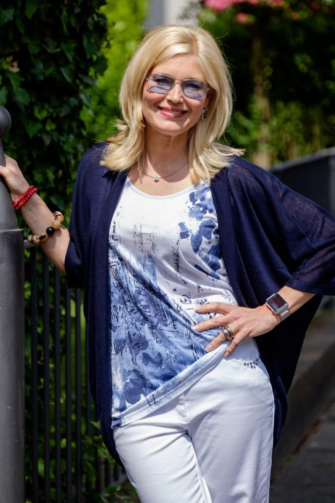 Gina Laura, Modeblog, Fashionblog, Fashion Blog, Top beidseitig bedruckt, Lieblingsstil
