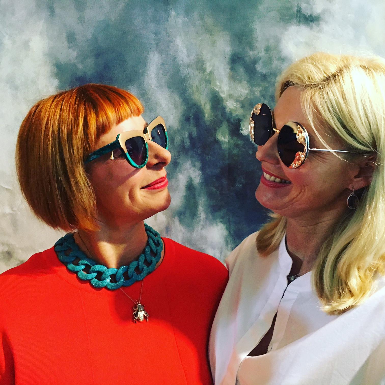 Lia Fallschessel Designer a cuckoo moment, Petra Dieners Bloggerin Lieblingsstil, Sonnenbrillen von Stylist Rolf Buck, Rolf Buck Style, Lieblingsstil.com, 2
