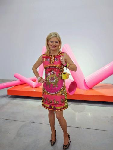 Petra Dieners Modebloggerin, Sigi Spiegelburg Kleid, Modebloggerin ü40, Modeblog, Fashionblog, Kleid Hermès Tuch, Lieblingsstil,1