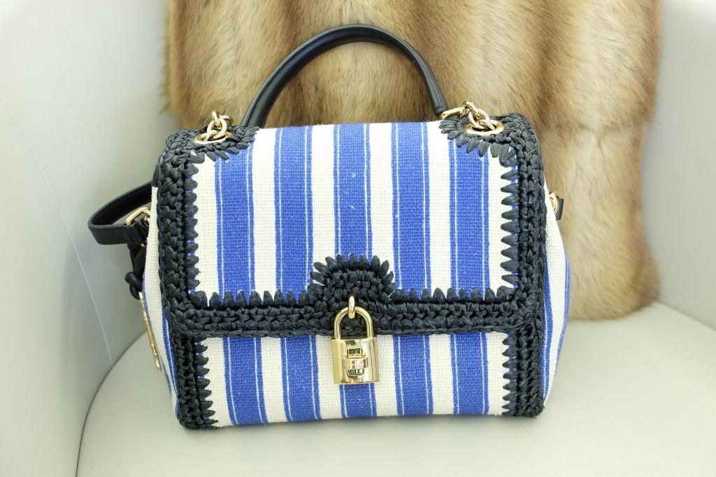 Fluxus Düsseldorf, Vintage Second Hand, Dolce & Gabbana Tasche gestreift, Modeblogger, Fashionblogger, Modeblog, Fashion Blog, Lieblingsstil