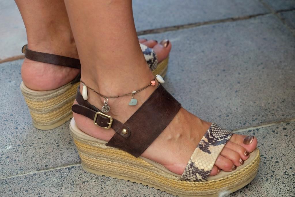 Fußkettchen, Fußkette, St. Tropez Style, St. Tropez Look, Modeblog, Fashion Blog, anklet, Lieblingsstil