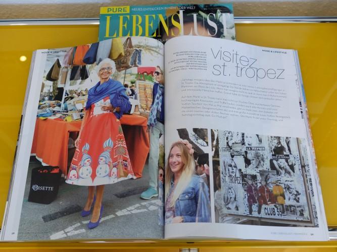 Pure Lebenslust, NRW Magazin, Markt St. Tropez, Modeblog, Fashion Blog, Lifestyle Blog, Ingo Kabutz, Petra Dieners Bloggerin, Lieblingsstil