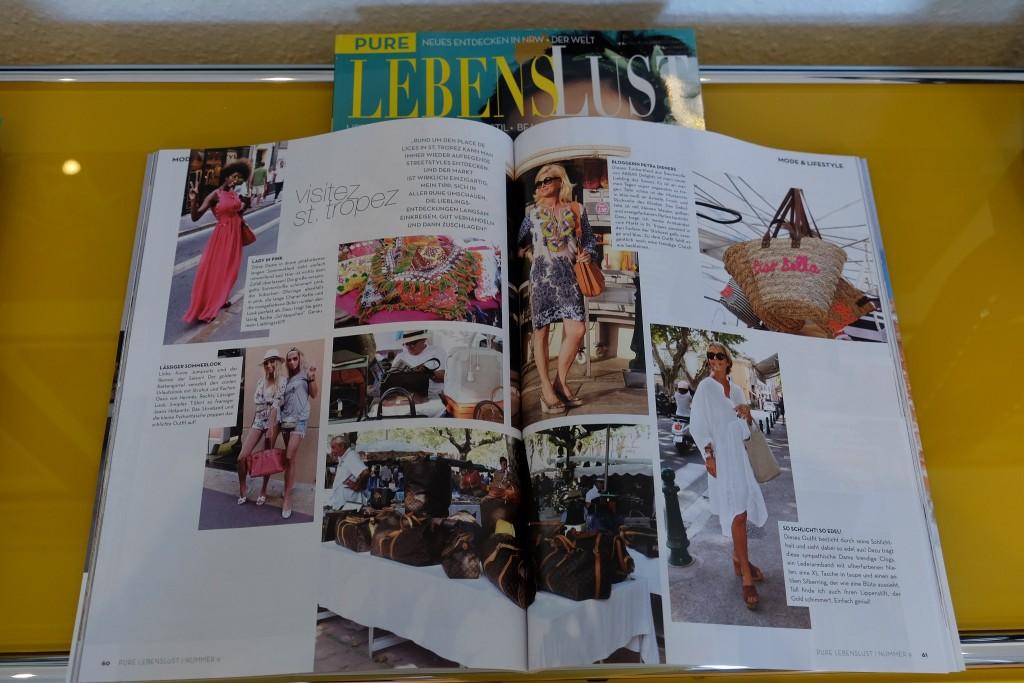 Pure Lebenslust, NRW Magazin, Markt St. Tropez, Modeblog, Fashion Blog, Lifestyle Blog, Street Styles St. Tropez, Ingo Kabutz, Petra Dieners, Lieblingsstil