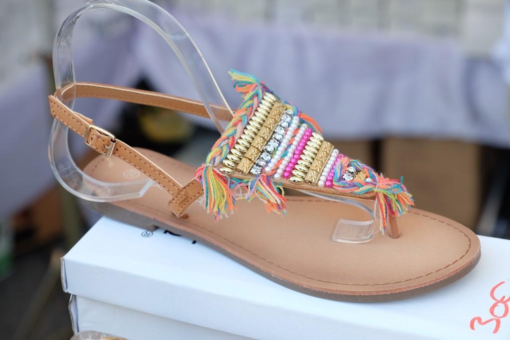 bunte Sandalen, colourful sandals,Zehensandalen, spartiates, Sandalen bunt, Fashionblog, Fashion Blog, Modeblog, Lieblingsstil