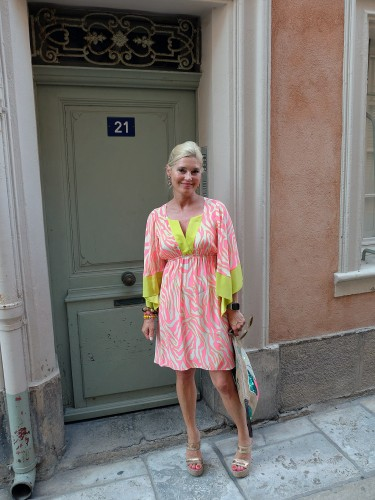 Alice&Trixie, Alice & Trixie New York, Modeblog, Fashion Blog, Fashionblog, Lieblingsstil, dress yellow pink