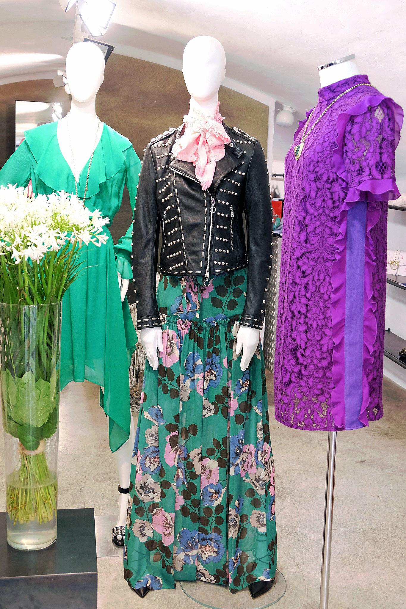 Lange Röcke, langer Rock mit Bluse, long skirt, langer Rock, long skirt with blouse, Pinko, Lieblingsstil,1