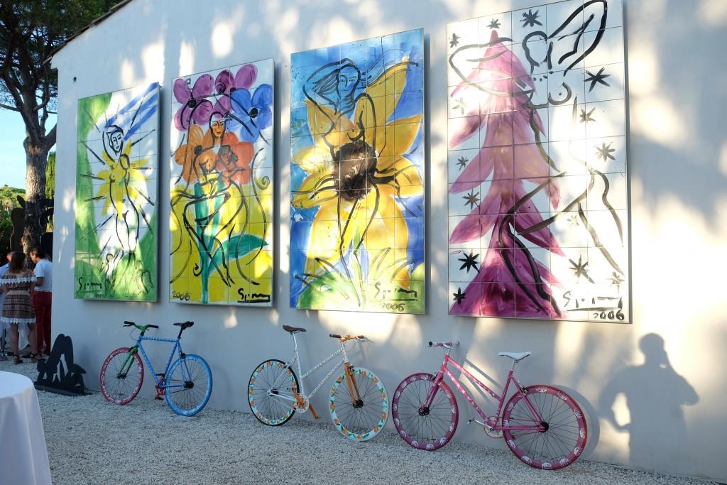 Stefan Szczesny Atelier Parc de St. Tropez, Stefan Szczesny bikes, Stefan Szczesny art, Lifestyleblog, St. Tropez Blogger, Lieblingsstil