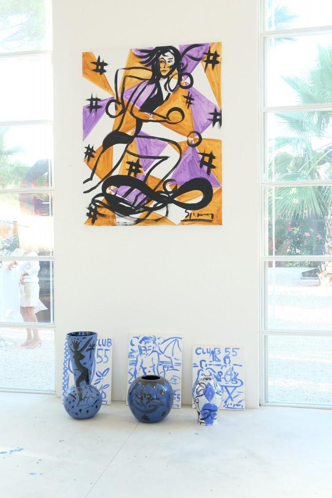 Stefan Szczesny Atelier Parc de St. Tropez, Stefan Szczesny studio, Stefan Szczesny artist, Lifestyleblog, St. Tropez Blogger, Lieblingsstil