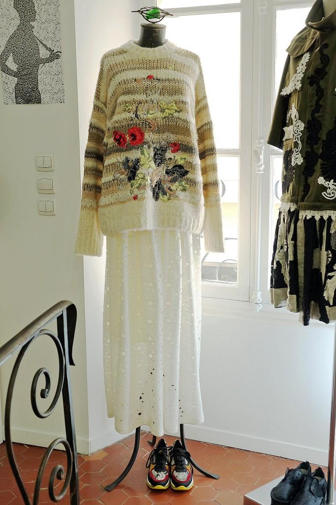 langer Rock mit Pullover, langer Rock und Pullover, long skirt, langer Rock, long skirt with sweater, long skirt with pullover, Lieblingsstil,1