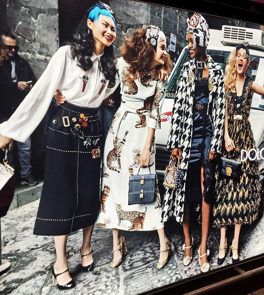 Dolce & Gabbana Fashion, Dolce & Gabbana Streetstyle, Flughafen Mailand, Fashionblog, Lieblingsstil,X