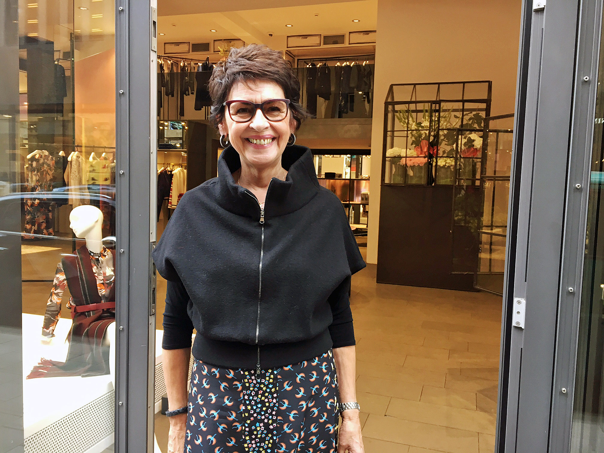 dorothee schumacher streetstyle d sseldorf wie kombiniert man lange r cke und kleider. Black Bedroom Furniture Sets. Home Design Ideas