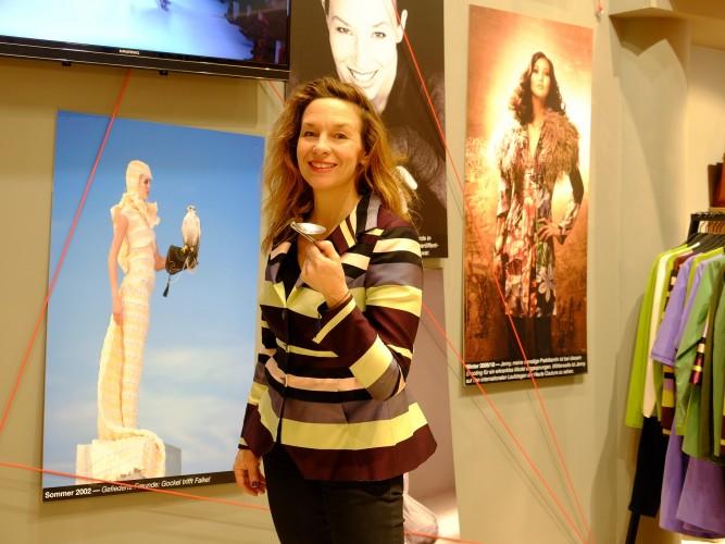 Anja Gockel Designerin des Jahres glaubt an Spiritualität, Anja Gockel in Köln, Anja Gockel hat viel positive Energie, Modeblog Lieblingsstil, Lieblingsstil.com, DSCF3120