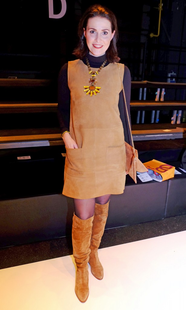 Breuninger-Fashion-Show-styles,-Breuninger-Fashion-Show-Gäste,-Hallhuber Kleid, Lieblingsstil.com,