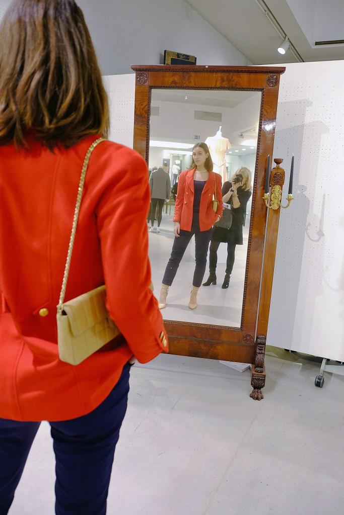 Chanel Jacke rot vintage, Michelle Krawinkel Chanel Jacke rot, Chanel Auktion Lempertz, Chanel auction Lempertz, Lieblingsstil.com,1