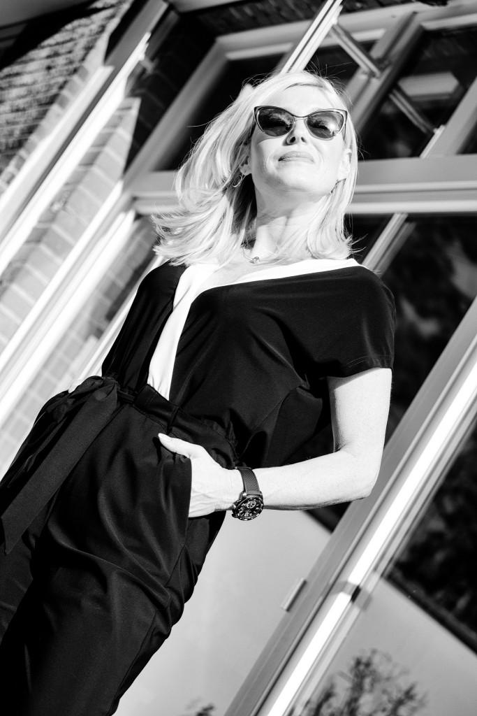 Minx Mode, Jumpsuit Minx, eleganter Jumpsuit, raffinierter Jumpsuit, Jumpsuit schwarz weiß, Deutsche Modedesigner, DMD, Fashionblog Lieblingsstil, Lieblingsstil.com