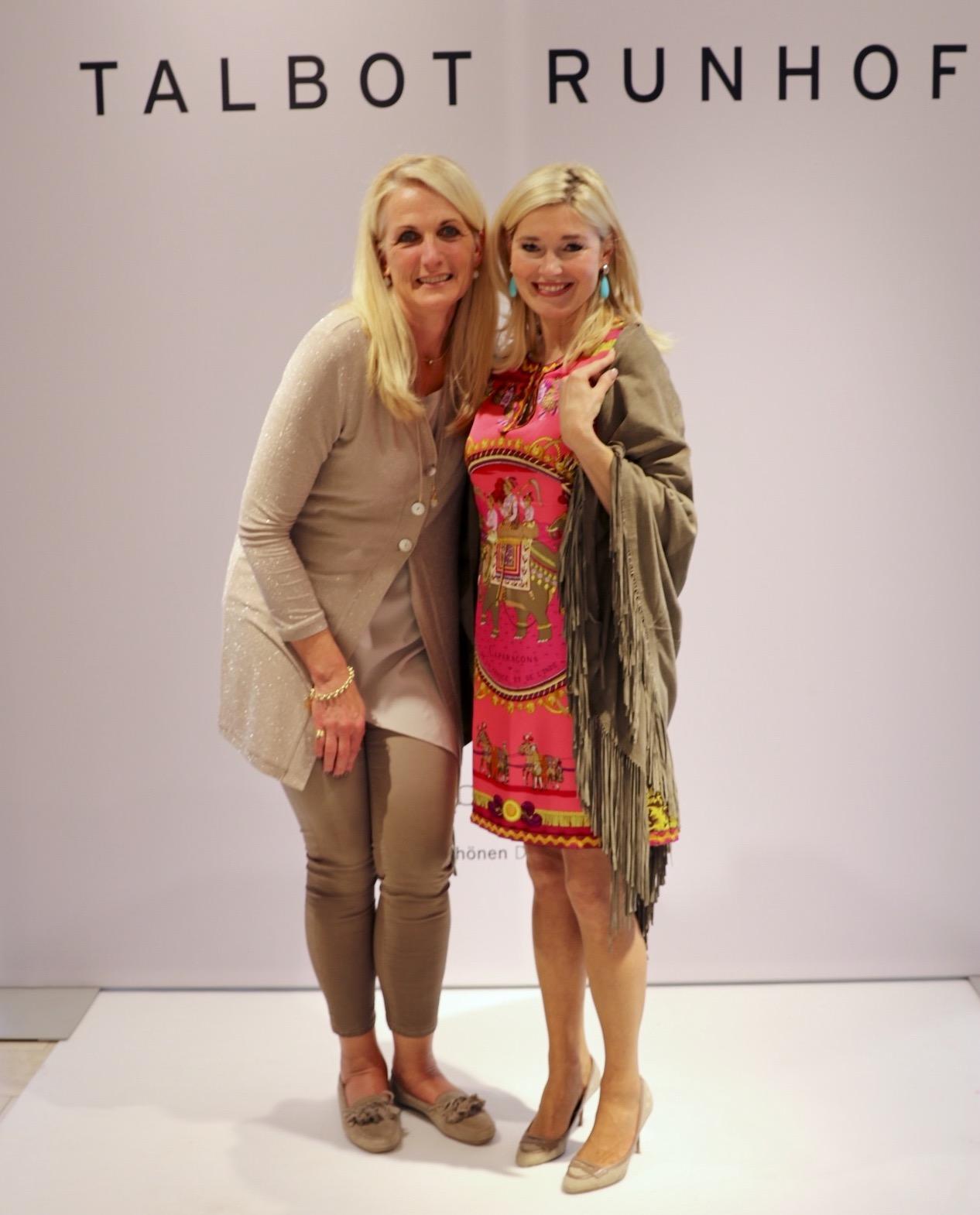 Cornelia Dinand-Pauli, Petra Dieners, Talbot Runhof Modenschau bei Breuninger, Fashion-Blog, Lieblingsstil.com,