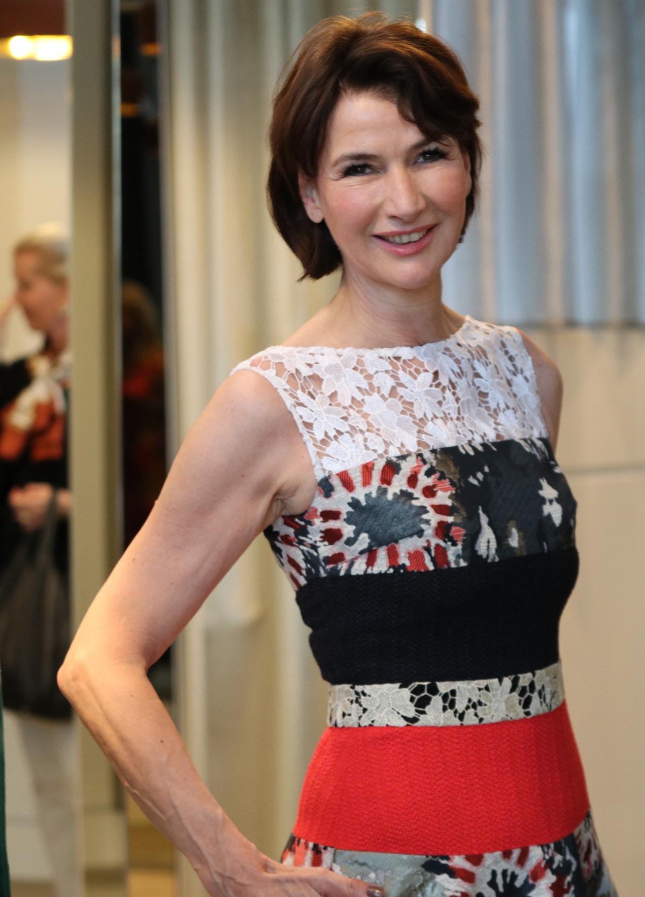 Dorothee Achenbach. Talbo Runhof Kleid, Breuninger Fashion Show, Fashion-Blog, Lieblingsstil.com