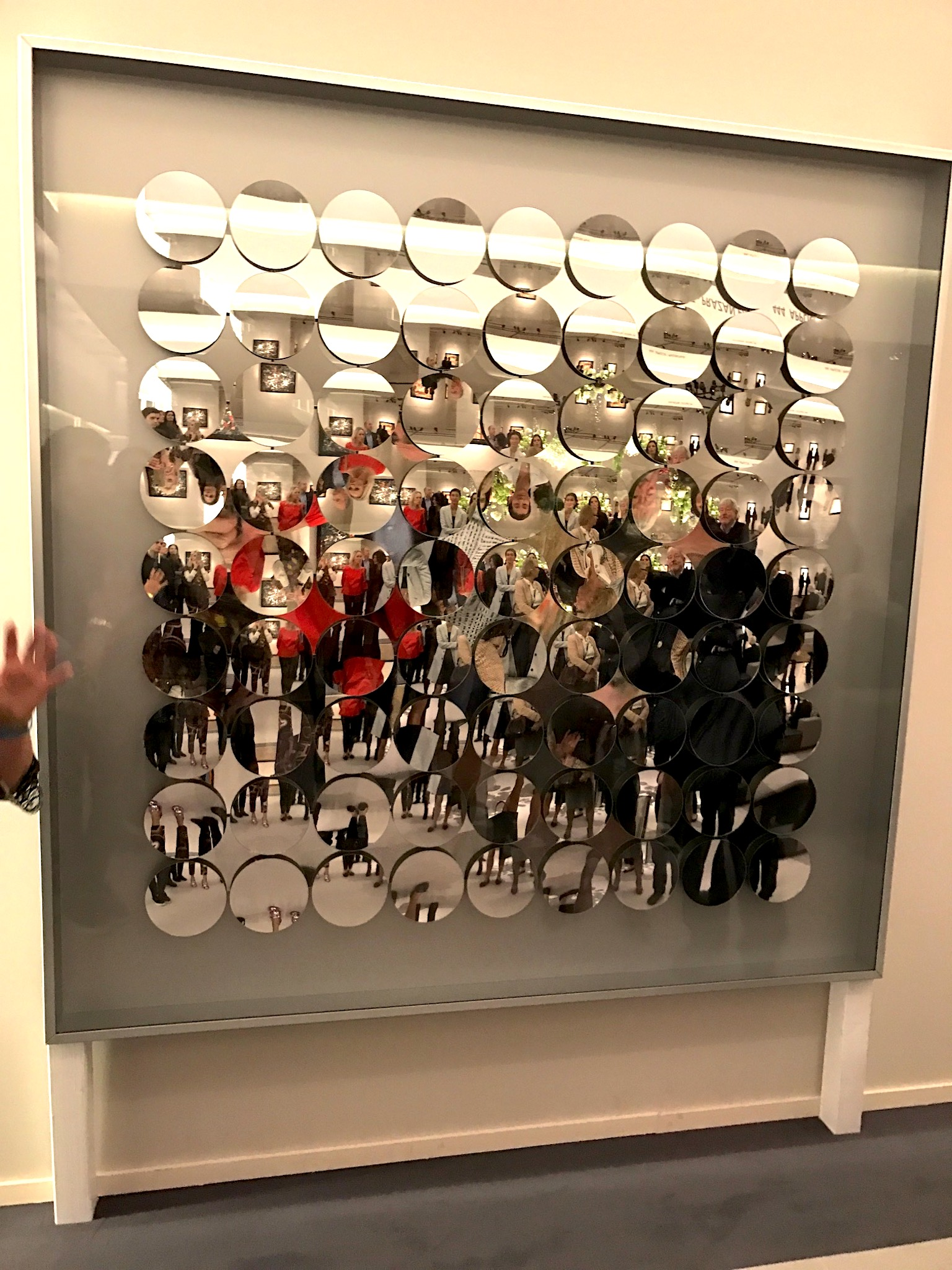 TEFAF art tour, Adolf Luther, Galerie Thomas München, Special Mirror Object, Lieblingsstil.com, IMG_6111