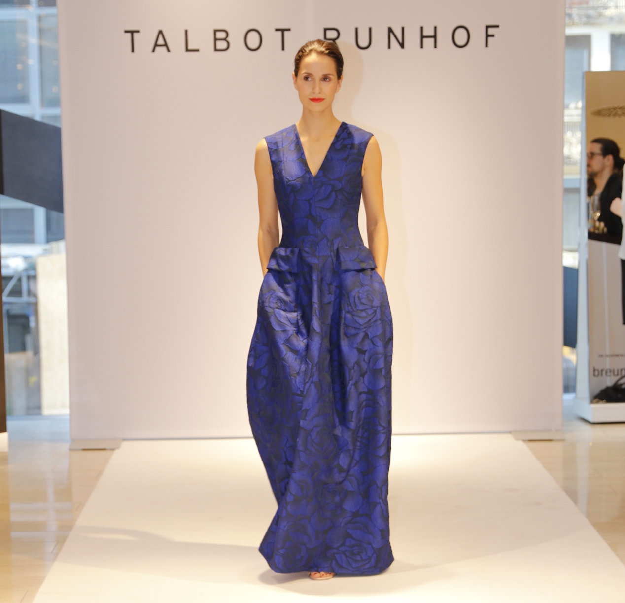 Talbot Runhof Kleid, Talbot Runhof Fashion Show, Breuninger Düsseldorf, Fashion-Blog, Lieblingsstil.com,3