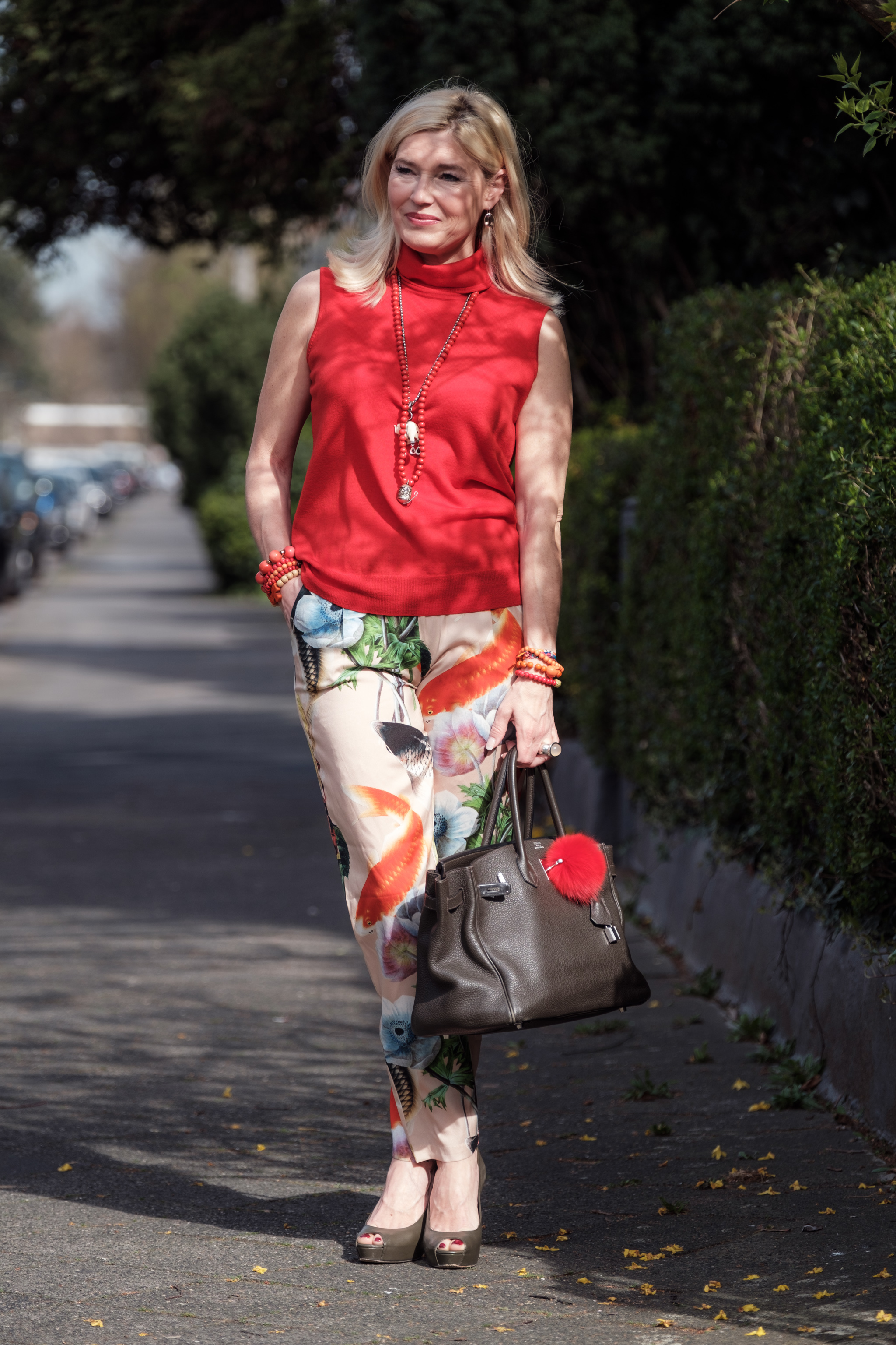 Anni Carlsson Outfit, Anni Carlsson Fashion, Anni Carlsson Mode, Anni Carlsson silk pants, Fashion-Blog, Lieblingsstil.com,