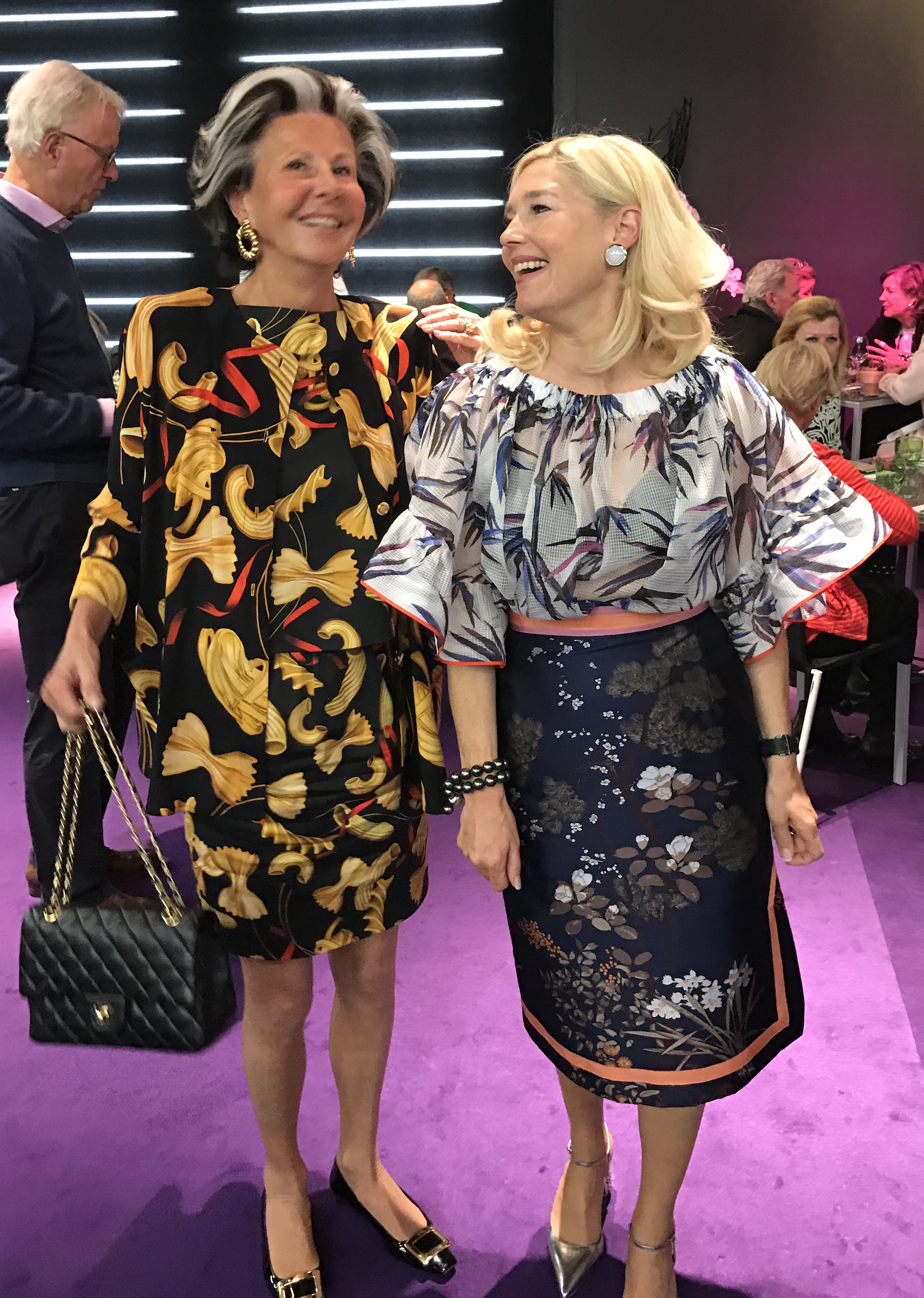 Christina Sieger, Petra Dieners, Ladies Lunch Art Cologne, Fashion-Blog, Lieblingsstil.com,