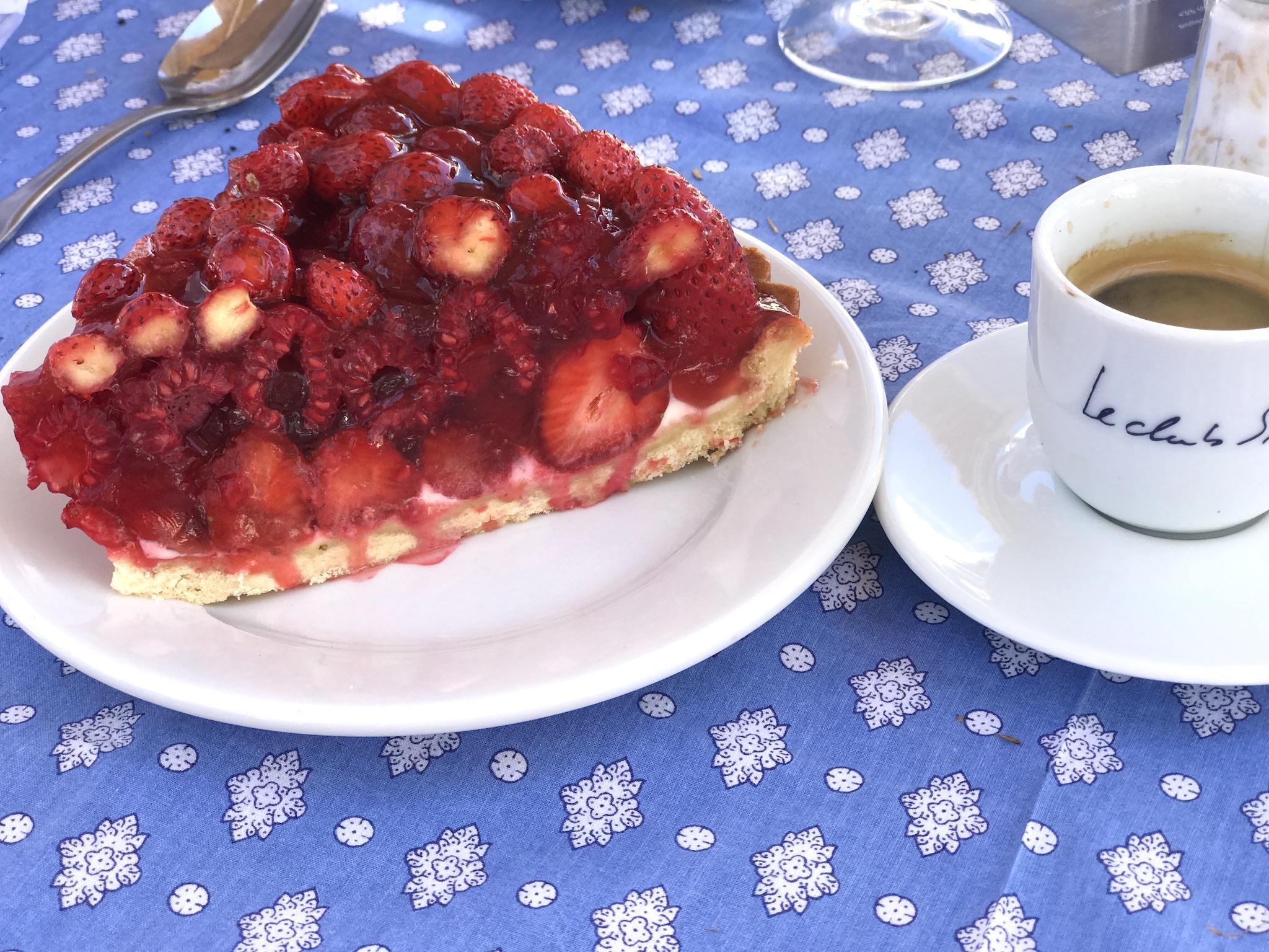 Club 55 Erdbeerkuchen, Club 55 strawberry cake, Lifestyle-Blog, Lieblingsstil.com,