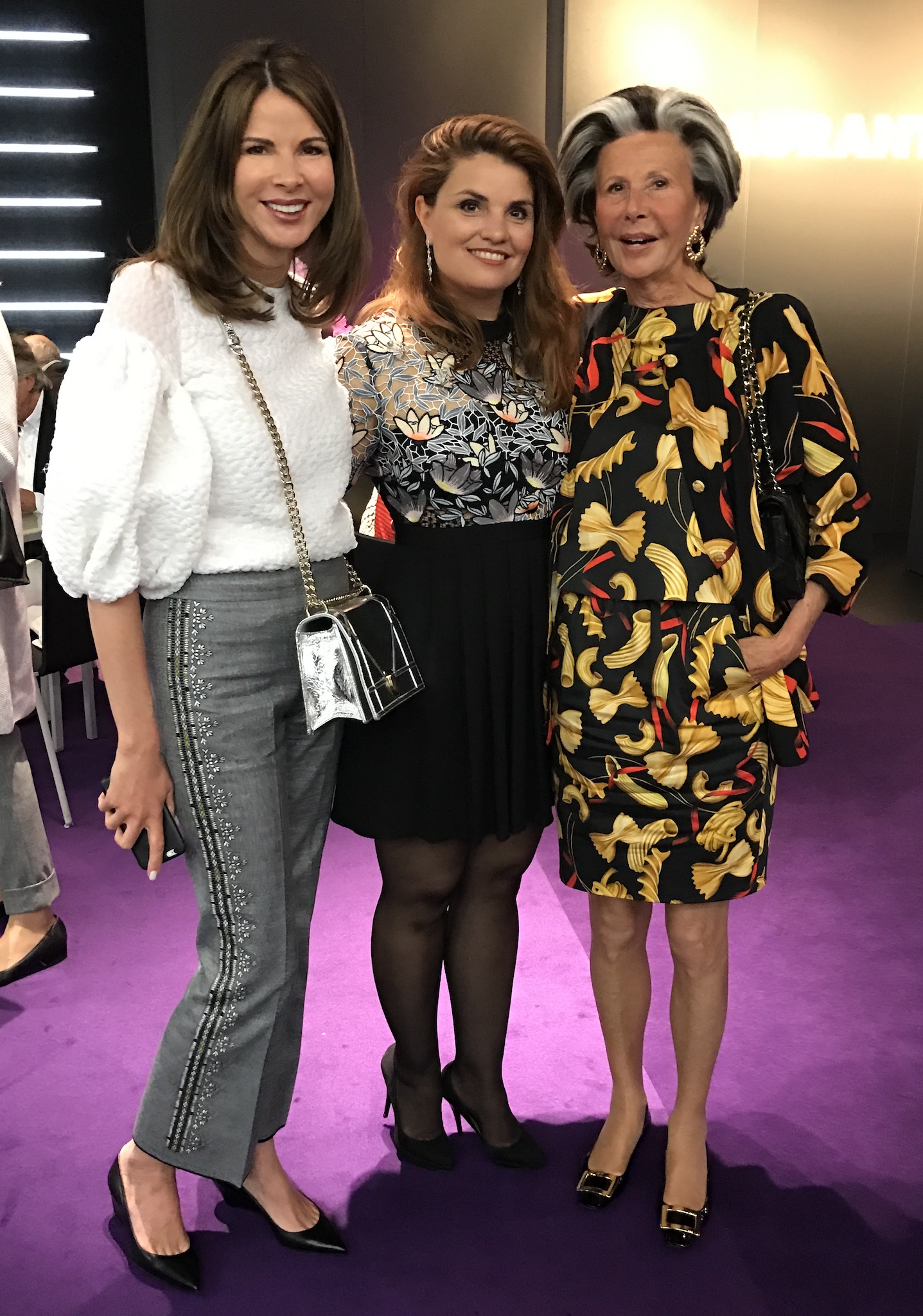 Eva Loesche, Corina Krwinkel, Christina Sieger, Ladies Lunch Art Cologne, Fashion-Blog, Lieblingsstil.com