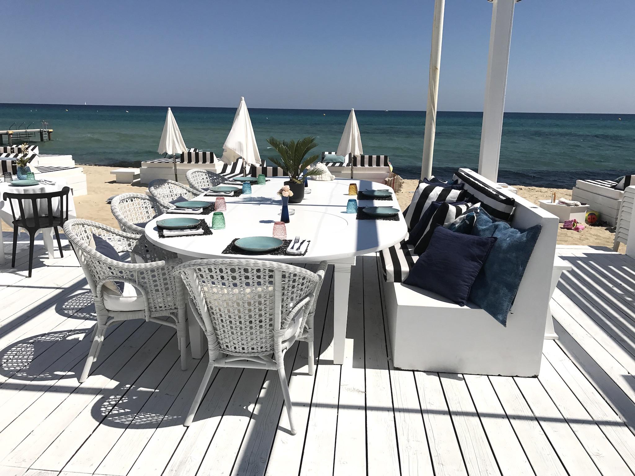 Maison Bianca Beach Club, Maison Bianca Saint Tropez, toller Beachclub St. Tropez, schöner Strand Club St. Tropez, Lifestyle-Blog, Lieblingstil.com