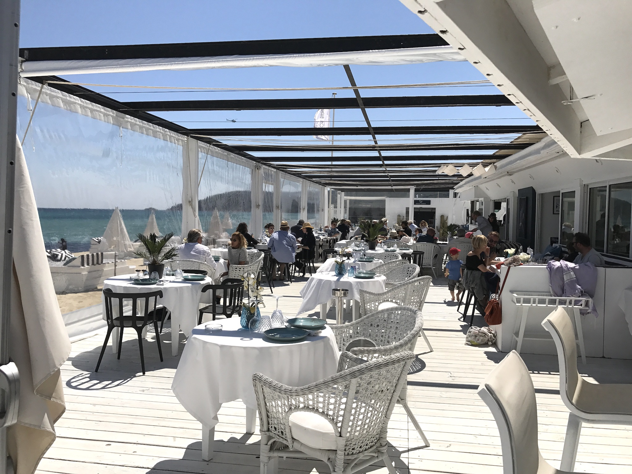 Maison Bianca Pampelonne Plage, Maison Bianca Beach Club St. Tropez, best beach club St. Tropez, super Strand Club Cote d´Azur, St. Tropez Beach Club, Lifestyle-Blog, Lieblingstil.com