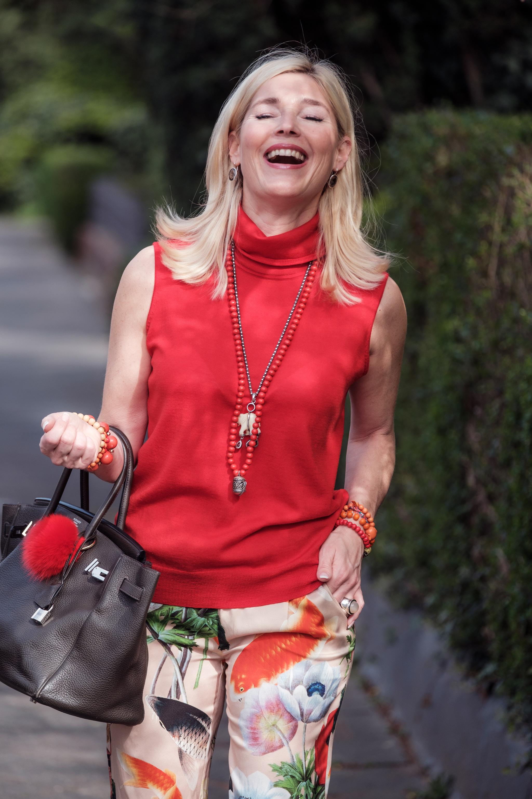 Spaß bei der Arbeit, Anni Carlsson Look, Anni Carlsson Outfit, Fashion-Blog, Lieblingsstil.com,