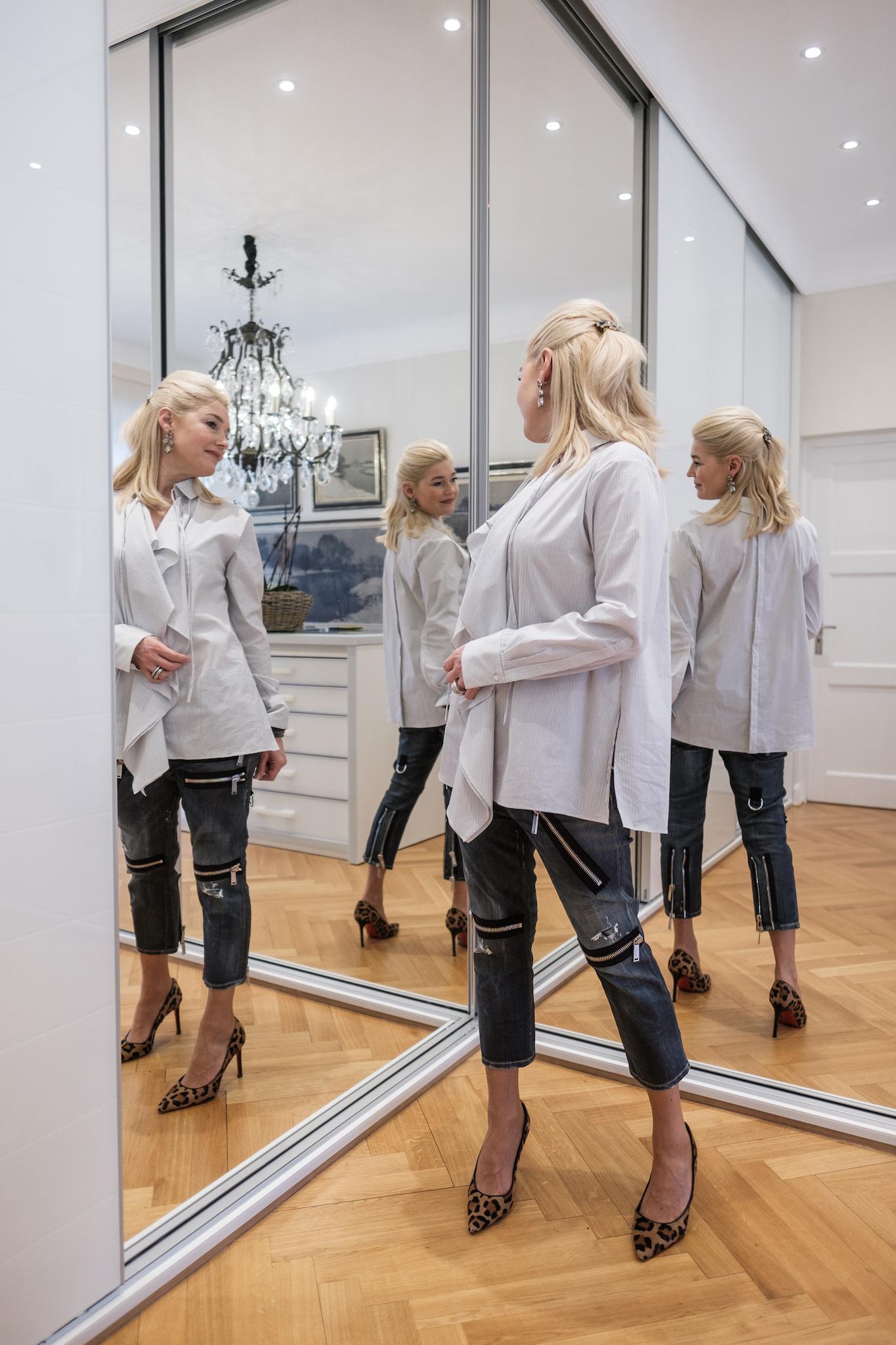 Dorothee Schumacher Bluse, Dorothee Schumacher Oversize Hemd, Bluse von zwei Seiten zu tragen, Fashion-Blog, Lieblingsstil.com